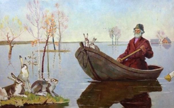Дедушка Мазай и зайцы читать