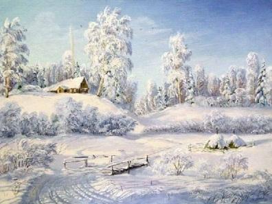 Зимнее утро Пушкин читать