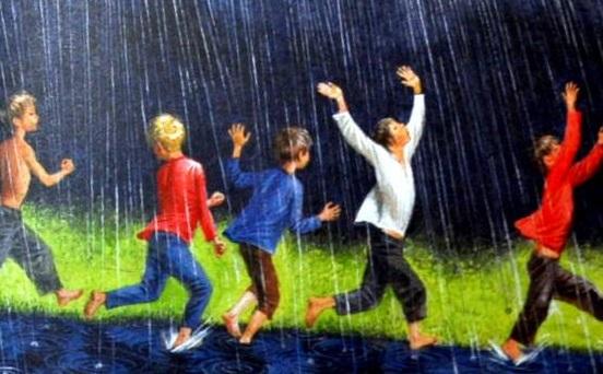 Летний дождь Аполлон Майков читать