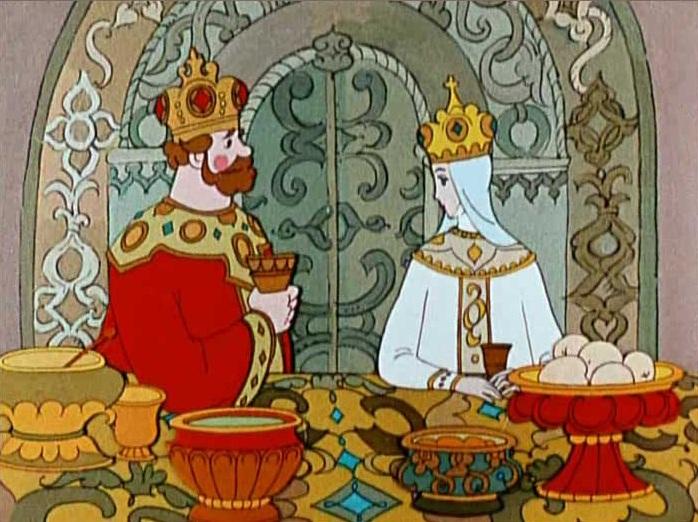 Сказка о царе Салтане читать