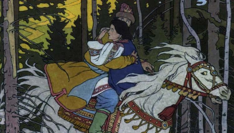 Сказка о царе Берендее. В. А. Жуковский.