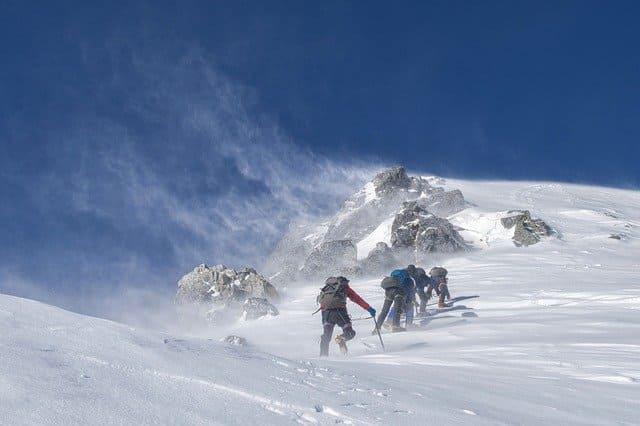 У альпинистов есть золотое правило