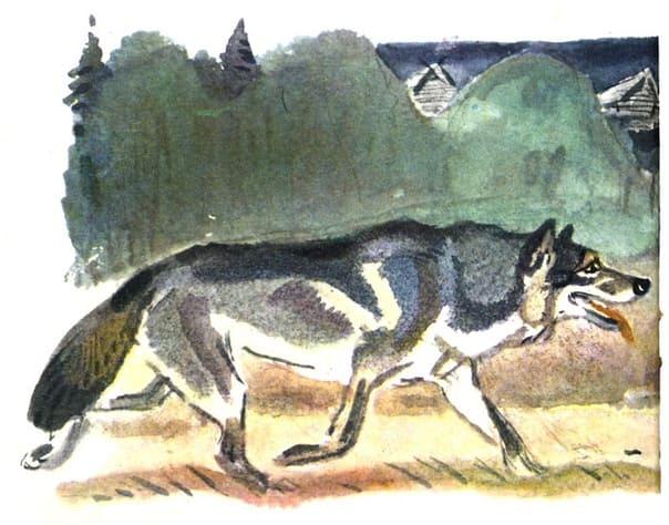 Рассказ Бориса Житкова-волк