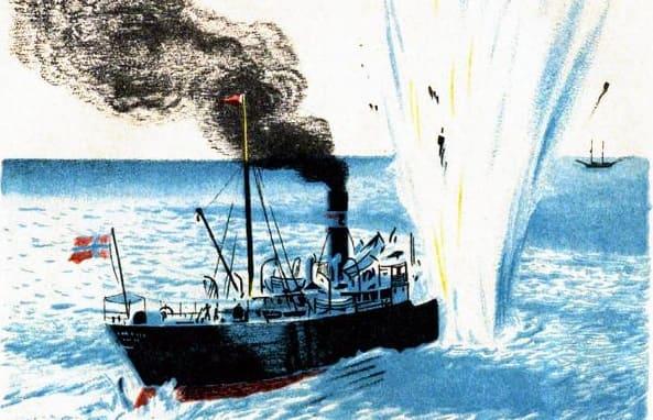 Как утонул пароход. Борис Житков